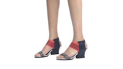 United Nude シューズ・サンダルその他 ★2017/18AW★Raiko - Black And White Mix + Neon Red + Navy