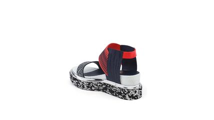 United Nude シューズ・サンダルその他 ★2017/18AW★Rico Sandal - Black And White Mix + Neon Red(5)