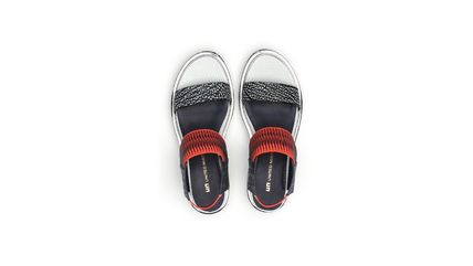 United Nude シューズ・サンダルその他 ★2017/18AW★Rico Sandal - Black And White Mix + Neon Red(6)