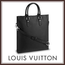 LOUIS VUITTON 国内発送 アントン・トート 無地 2色 シンプル