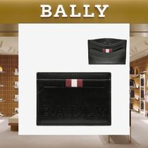 【18SS NEW】 BALLY_men / BHAR BOLDレザーカードホルダーBK