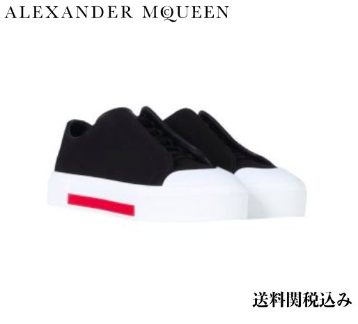 早い者勝ち alexander mcqueen LOW CUT LACE-UP SNEAKERS