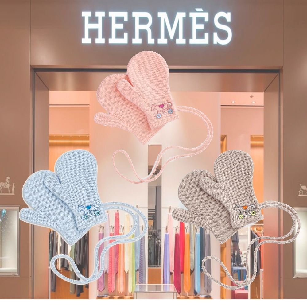 HERMES(エルメス) 2歳児用 キッズミトン