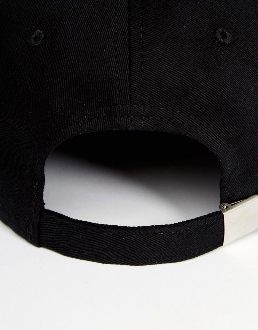 新作☆送料関税込☆ASOS Baseball Cap In Black