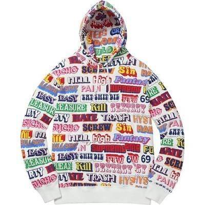 Supreme/HYSTERIC GLAMOUR Text Hooded  フーディー