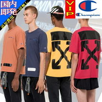 ◆◆VIP◆◆ Off-White   CHAMPION  Tシャツ /  関税込