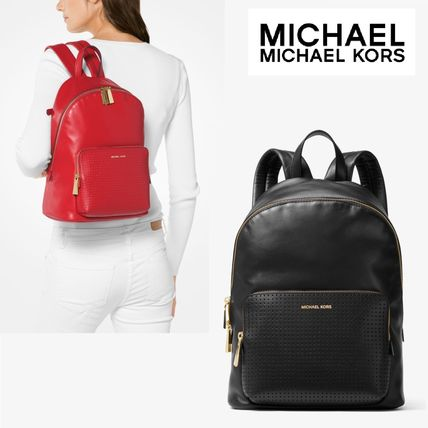 ☆Michael Kors☆Wythe Large Perforated Leather Backpack