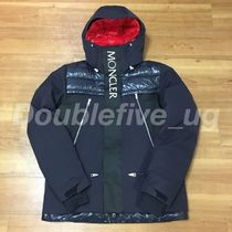 KITH MONCLER Parrachee Long Down Jacket Navy size 3 正規品
