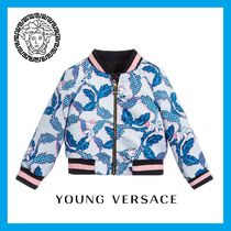 Baby!! YOUNG VERSACE★Blue バロックジャケット★12-36M 関税込