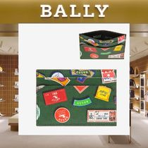 【18SS NEW】 BALLY_men / BHAR Ballymania カードホルダーGN