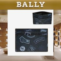 【18SS NEW】 BALLY_men / BHAR Ballymania カードホルダーBL