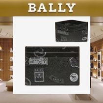 【18SS NEW】 BALLY_men / BHAR Ballymania カードホルダーBK