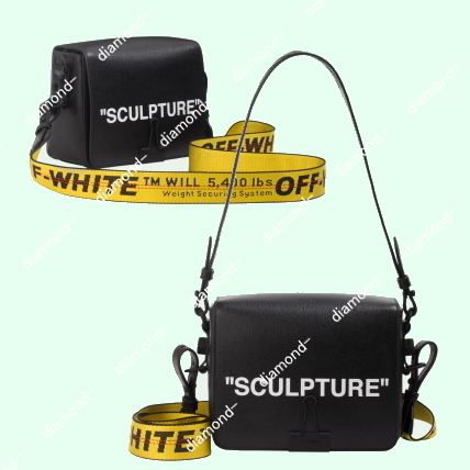 "◆◆VIP◆◆Off-White  ""SCULPTURE"" SQUARE BINDER CLIP"