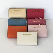 【Michael Kors】新色☆JET SET TRAVEL BIFOLD ZIP 二つ折り財布