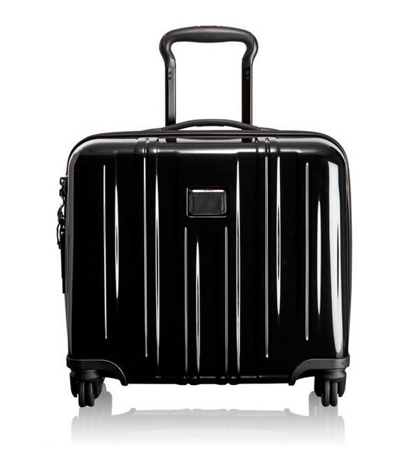 Tumi ★ 228004 V3 Compact Carry-On 4 Wheeled Briefcase