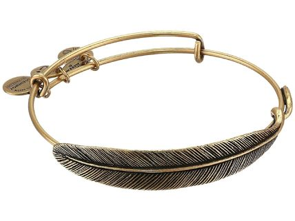 Alex and Ani★Quill Feather Bangle▽送料関税込