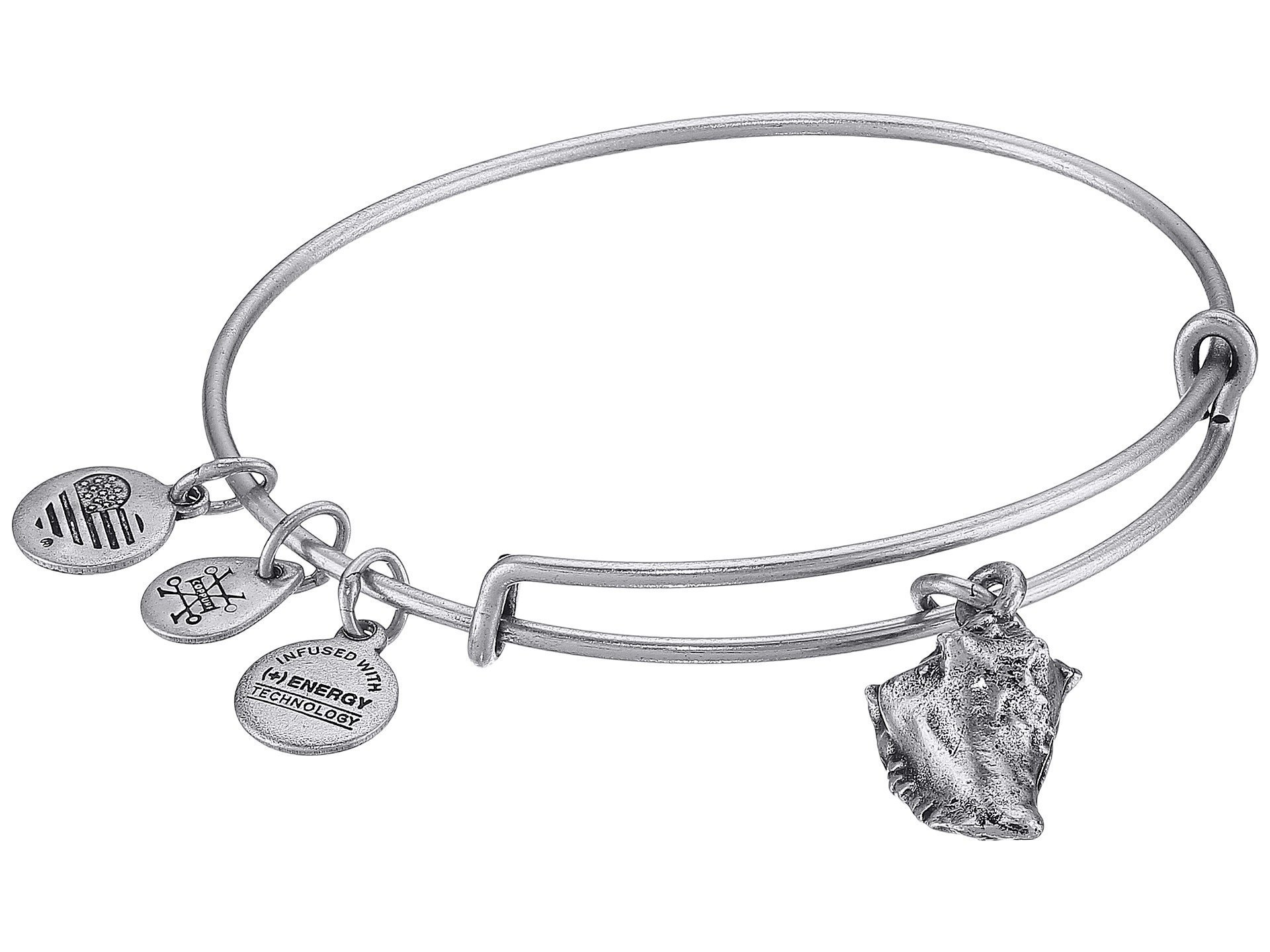 Alex and Ani★Seaside Conch Shell II Bangle▽送料関税込