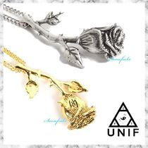 UNIF Clothing(ユニフ) ネックレス・ペンダント 送料関税込★HELTER SKELTER BY UNIF★ROSE NECKLACE☆2色