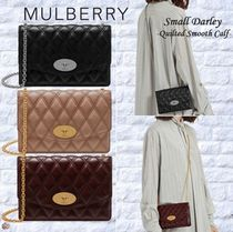 Mulberry(マルベリー)☆Small Darley -Quilted Smooth Calf-