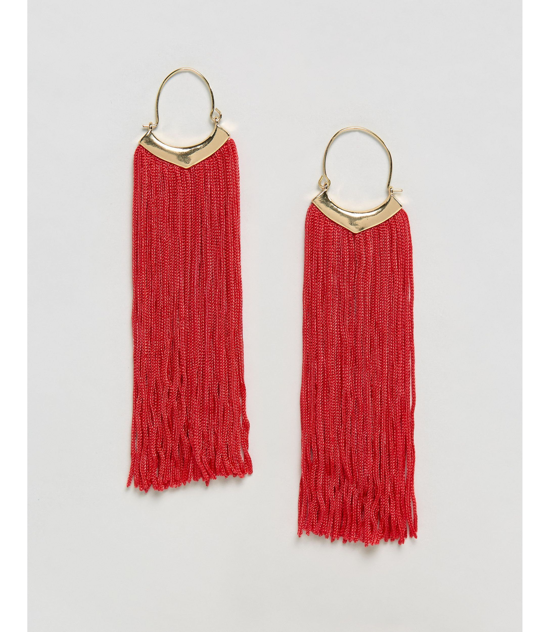 ★ASOS★ Statement Fringe タッセル Earrings