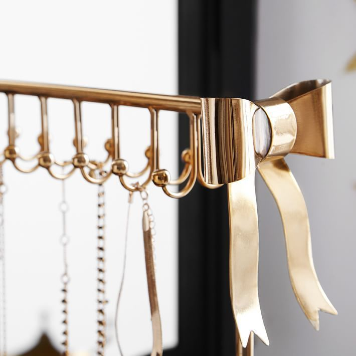 ★送込! The Emily&Meritt Bow Necklace Holder ジュエリー収納