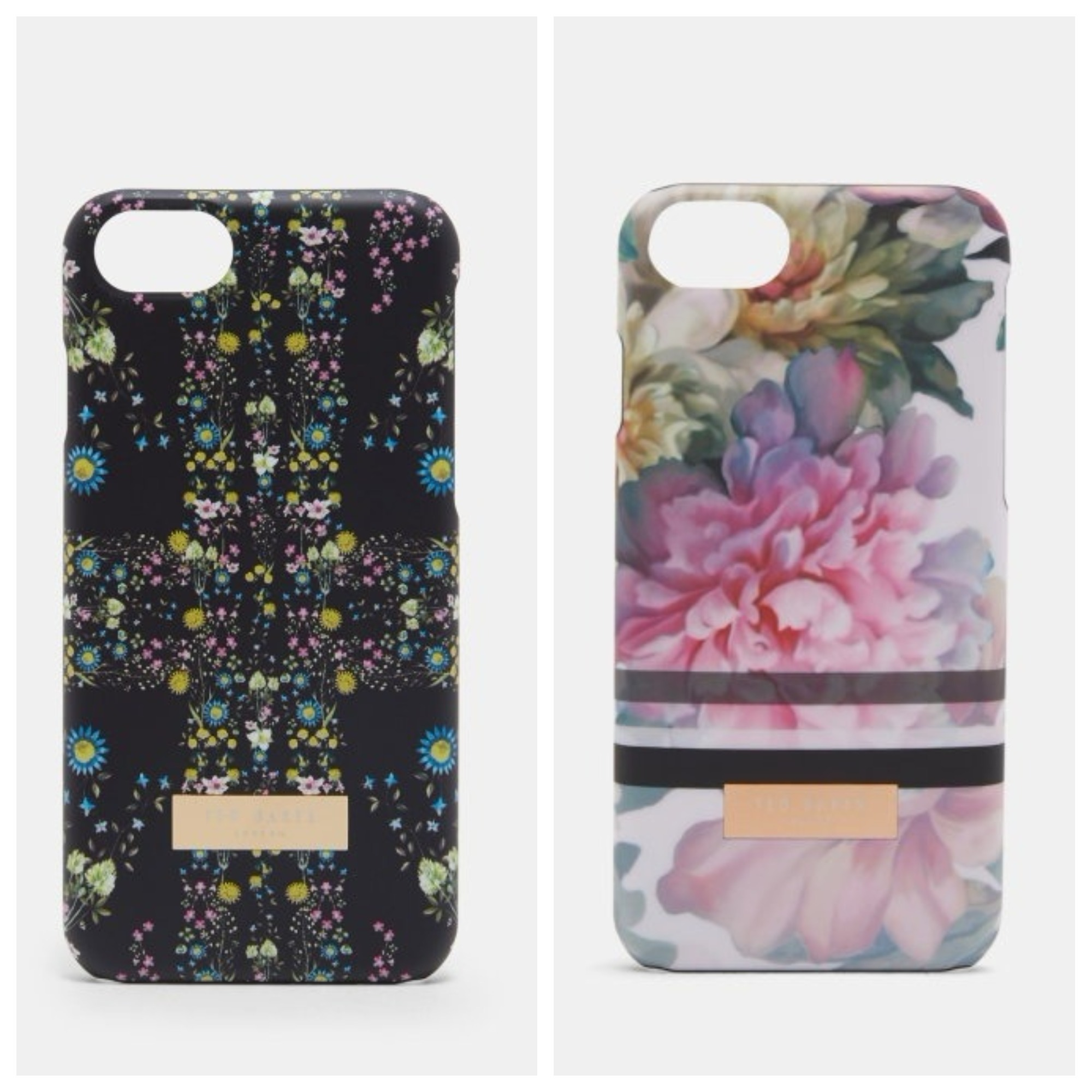 TED BAKER♡フローラルプリント iPhone 6/6S/7 対応ケース