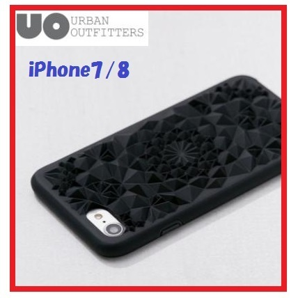 Urban Outfitters 3D カレイドスコープ iPhone 7/8ケース