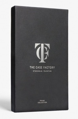 日本未☆THE CASE FACTORY☆Nappa Treccia Black iPhoneX 送関込
