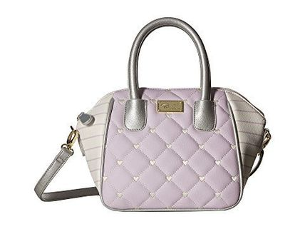 Luv Betsey by Betsey Johnson★QuinnMini PVC Satchel 2way Bag