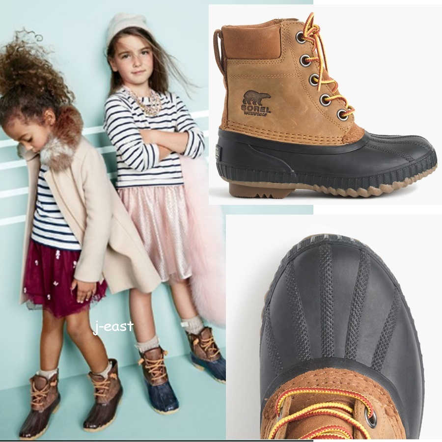 関税込 Kids' Sorel Cheyanne II lace-up boots 大人サイズ有り