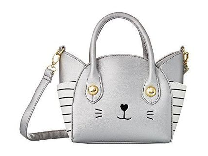 Luv Betsey by Betsey Johnson★Katt ねこ PVC Satchel 2way Bag