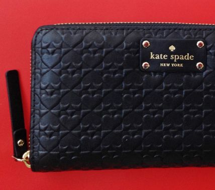 kate spade new york 長財布 Kate Spade 長財布◆Neda Penn place embossed 型押しがきれい!(3)