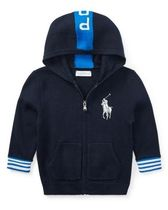 新作♪国内発送 Big Pony Cotton Hoodie boys 0~24M