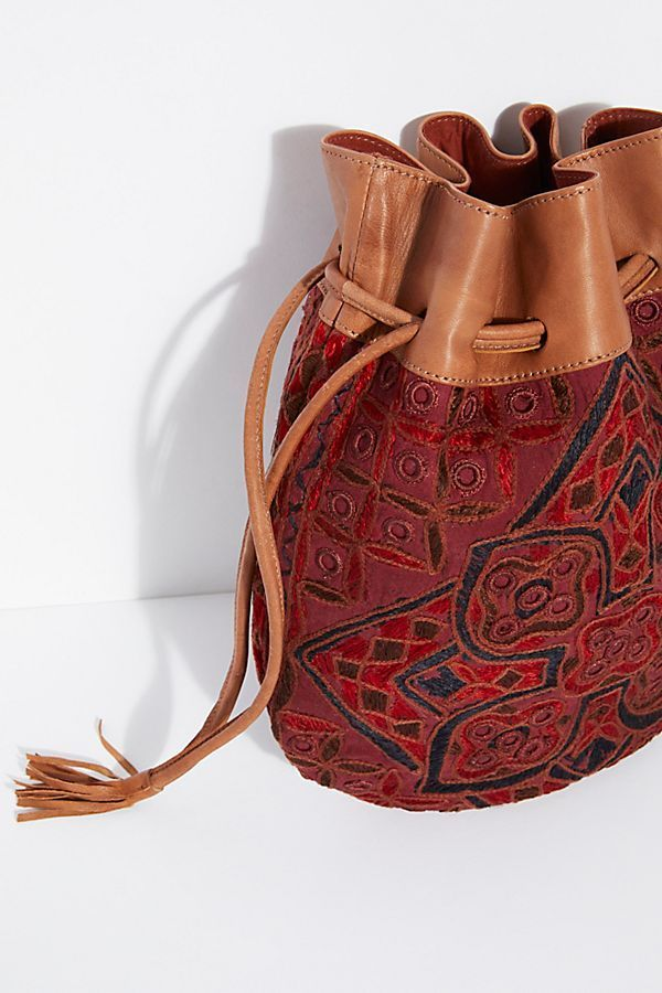 Free People フリーピープル Majorca Embroidered ポーチ
