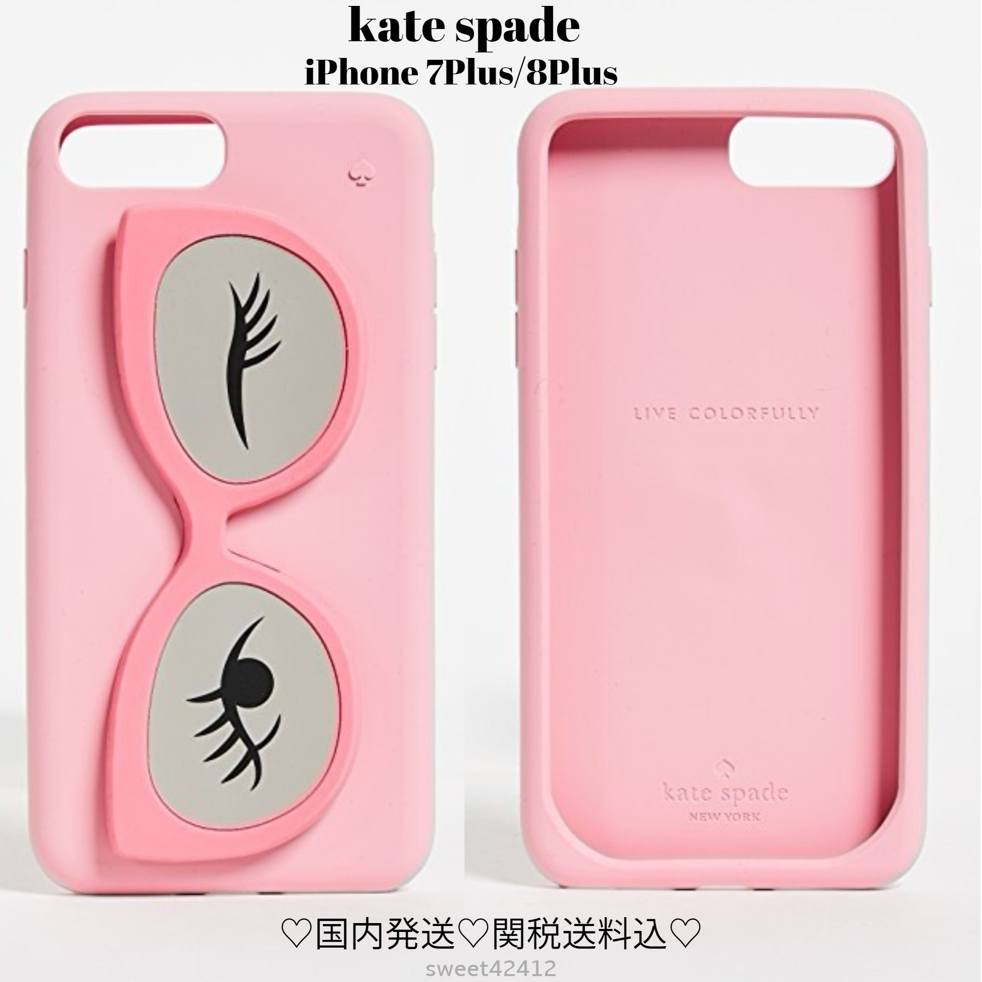 ★関税送料込★kate spade★Sunglasses Stand iPhone 7/8 Plus
