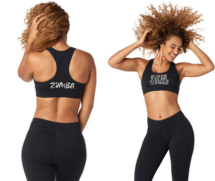 【関税送料込】Zumba Shine Scoop Bra&Capri Leggings上下