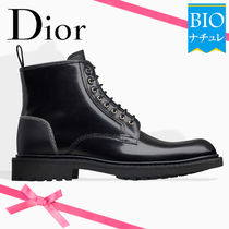 【Dior】Made in イタリア♪* カーフレザー *CDロゴ * ブーツ