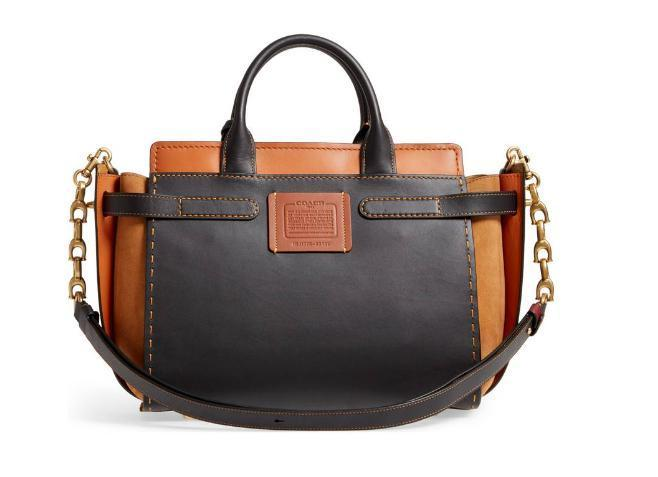 【送料・関税等込み】Double Swagger Leather Satchel