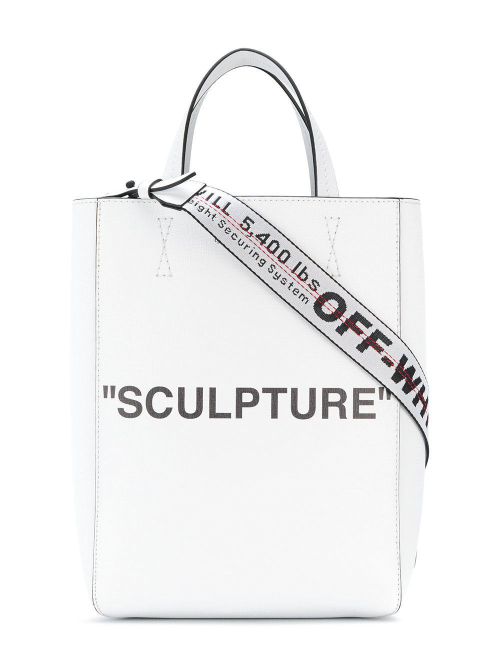 OFF-WHITE / 'SCULPTURE' TOTE ホワイト【関税・送料込】