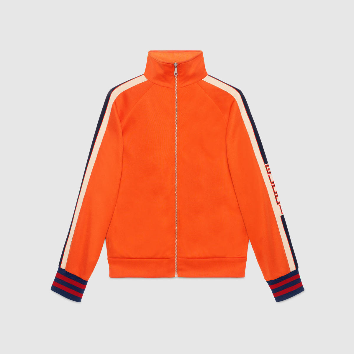 【数量限定】GUCCI Technical jersey jacket Orange