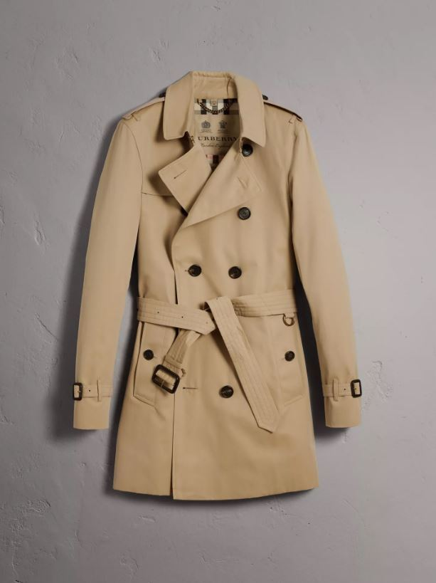 Burberry Mid-length Sandringham Trench Coat