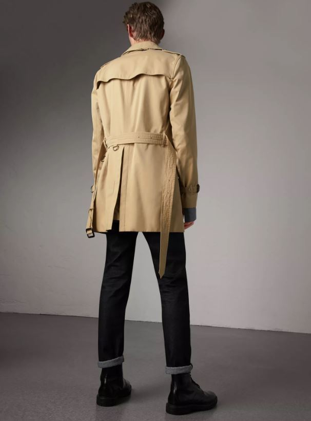 Burberry Mid-length Kensington Trench Coat