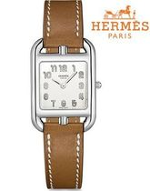 HERMES☆Cape Cod PM 23 x 23mm 腕時計《ケープコッド》 PM
