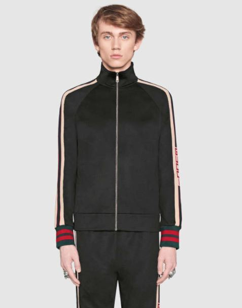 【GUCCI】Technical jersey jacket