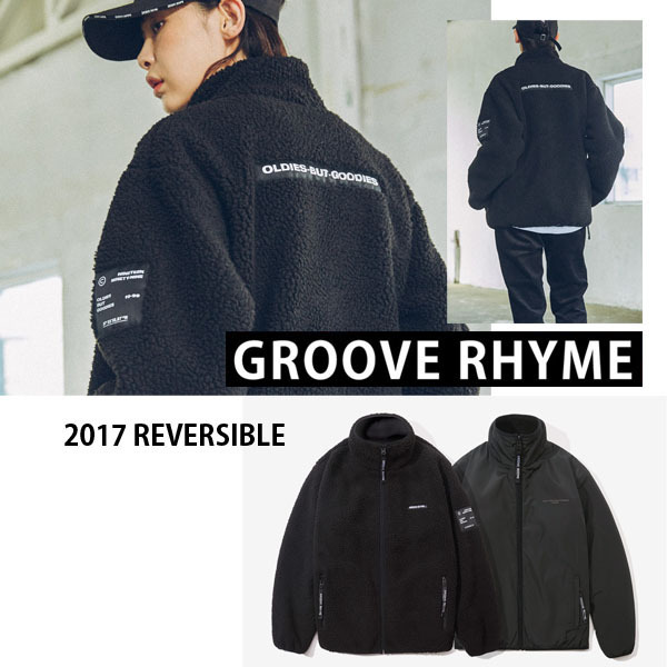 GROOVE RHYME★2017 REVERSIBLE  FLEECE FULL ZIP-UP