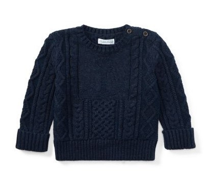 新作♪国内発送 Anchor Cotton Crewneck Sweater boys 0~24M