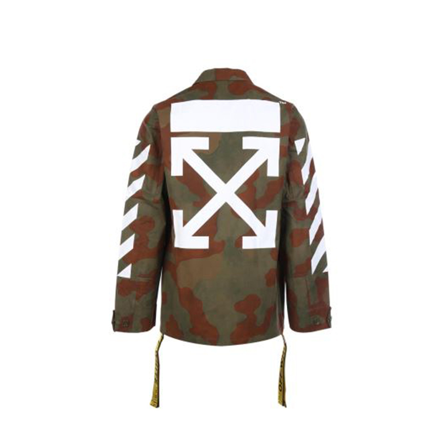 OFF WHITE camouflage field jacket