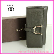 GUCCI★グッチ★素敵!Greenwich Leather Continental Wallet