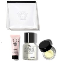 BOBBI BROWN Hydrate & Glow ミニ3点セット&クリアポーチ