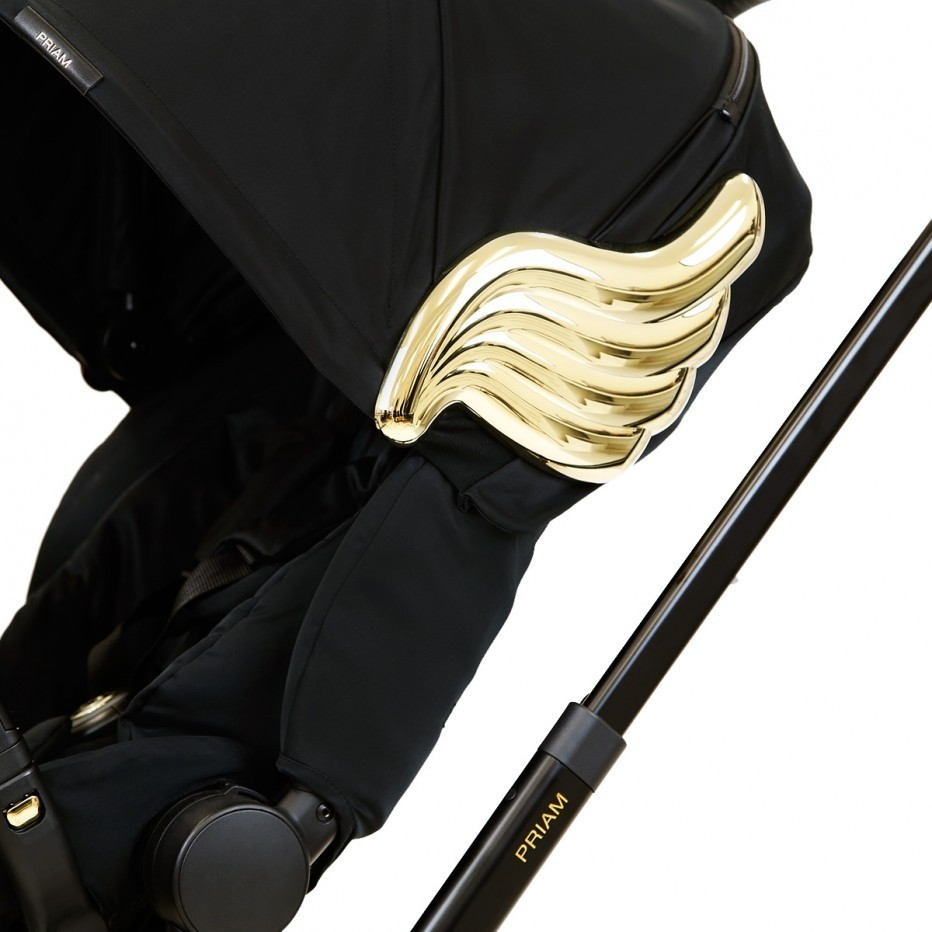 CYBEX★BLACK & GOLD PRIAM ★シートLUX+フレーム[SET]